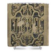 Decorative Design, Carel Adolph Lion Cachet, 1874 - 1945 Vq Shower Curtain