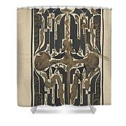 Decorative Design, Carel Adolph Lion Cachet, 1874 - 1945 Y Shower Curtain