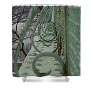 Decorative Foot Bridge Shower Curtain