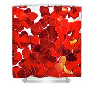 Decorative Heart Background Shower Curtain