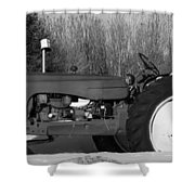 Decorative Tractor Shower Curtain