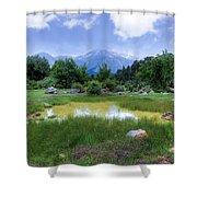 Dedegol Mountain - Turkey Shower Curtain