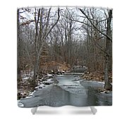 Deep Creek - Green Lane - Pa Shower Curtain