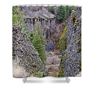 Deep Creek Gorge Shower Curtain