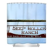 Deep Hollow Ranch Shower Curtain