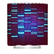 Deep Purple Shower Curtain