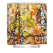 Art And Theater Shower Curtain