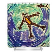 Deep Sea Diving  Shower Curtain