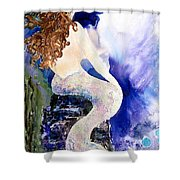 Deep Sea Tranquility Shower Curtain