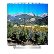 Deep Vista Shower Curtain