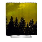 Deep Within Shower Curtain by Barbara Schultheis