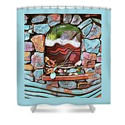 Deer Creek Altar Shower Curtain