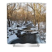 Deer Creek Shower Curtain