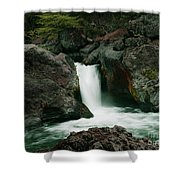 Deer Creek Falls Shower Curtain