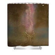 Deer Dreams Shower Curtain