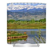 Deer Island Shower Curtain