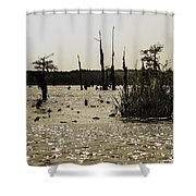 Deer Point Lake At Dusk Shower Curtain