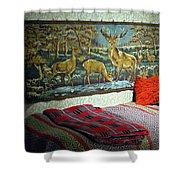 Deer Room Shower Curtain