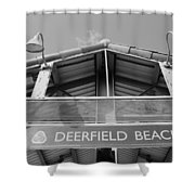Deerfield Beach Shower Curtain
