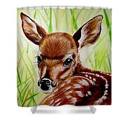 Deerly Beloved Shower Curtain