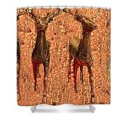 Deers Shower Curtain