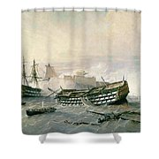 Defence Of The Havana Promontory  Shower Curtain