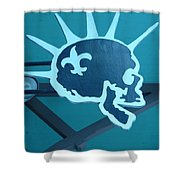 Defend Nola Shower Curtain