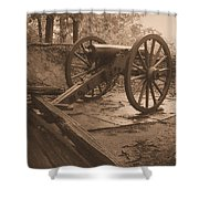 Defend The Mountain Shower Curtain