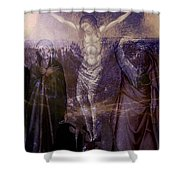 Defenders Of The Faith...after Vanni Shower Curtain