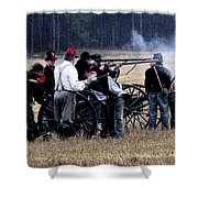 Defending The Artillery Shower Curtain