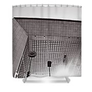 Defense Paris Shower Curtain