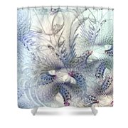 Deferential Inspirations Shower Curtain