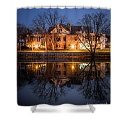 Defiance Ohio Library Shower Curtain