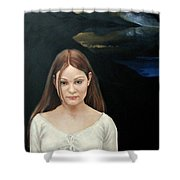 Defiant Girl  2004 Shower Curtain
