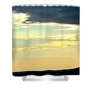 Defined Horizon Shower Curtain