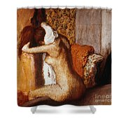 Degas: After The Bath Shower Curtain