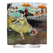 Degas: Dancer, 1878 Shower Curtain