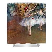 Degas: Dancers, C1877 Shower Curtain by Granger