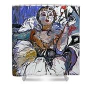 Degas Girl Shower Curtain