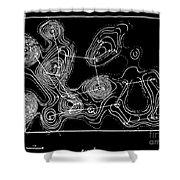 Degradation, Diagram, Ernst Boris Chain Shower Curtain