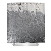 Degraded Landscape Minerals Mine In South Of Poland.  Shower Curtain