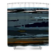 Deja Vue Shower Curtain by KR Moehr