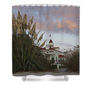 Del Coronado Brushes Shower Curtain