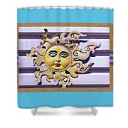 Del Sol Shower Curtain