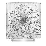 Lush Blossom Shower Curtain