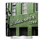 Delacroix Corp., New Orleans, Louisiana Shower Curtain