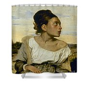 Delacroix: Orphan, 1824 Shower Curtain