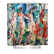 Delaunay: City Of Paris Shower Curtain