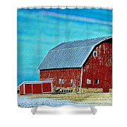 Delaware Barn 2 Shower Curtain