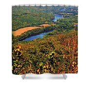Delaware River From The Appalachian Trail Shower Curtain